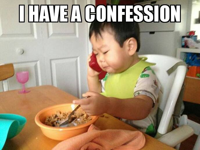 baby confession