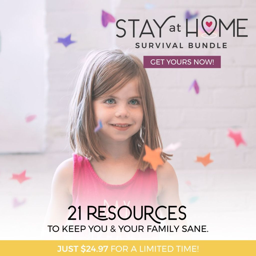 The stay at home survival bundle includes the best work from home jobs of 2020 and self-care resources!